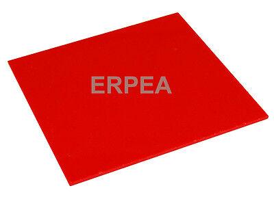 New Red Acrylic Plexiglass 18 X 8.25 X 11.5 Plastic Sheet