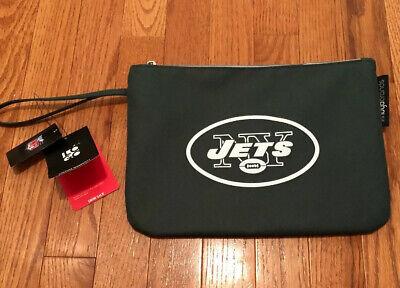 New York Jets Clutch Bag Great for Gym, Outdoor Activities. Look In Description New York Jets Clutch