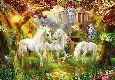 1000 pcs Jigsaw Puzzle - Unicorn Forest