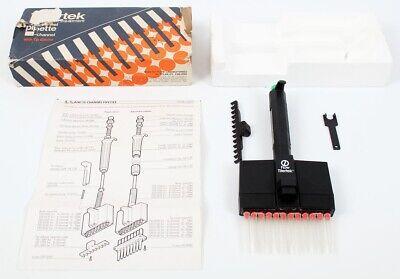 Flow Titertek Multichannel Digital Variable 12-channel Pipette 50-300 L