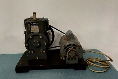 Welch Duo-seal Duoseal R1405 Vacuum Pump Dayton Electric 12hp 1725rpm 1 Phase