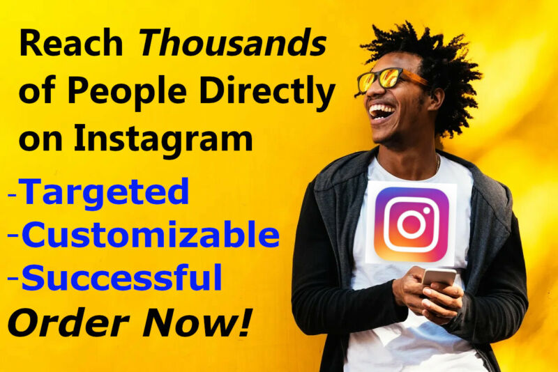 Give your Instagram viral exposure with Thousands of Direct Messages (DM)