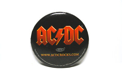 "AC / DC  2.5""  Vintage Pinback Button"
