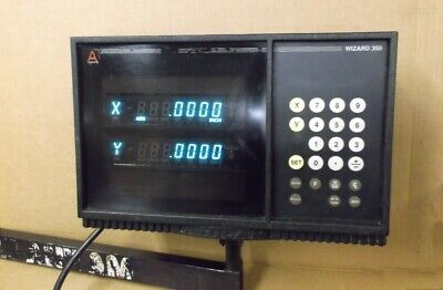 Anilam Wizard 350 Digital Readout Console A1910001 With Scales