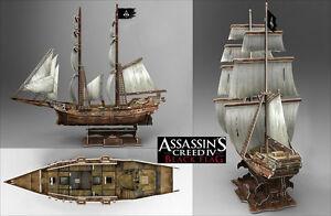 Assassins Creed 4 Black Flag Jackdaw Ship model 3D - <span itemprop='availableAtOrFrom'>Wroclaw, Polska</span> - Zwroty są przyjmowane - Wroclaw, Polska