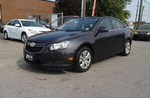 2014 Chevrolet Cruze 1LT.One Owner.Low Kms. Well Maintained.