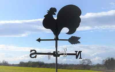 Standard Cockerel Metal Weathervane (Post Fixing Bracket)