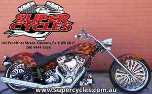 2009 PRO ONE DOMINATOR 124 BLACK WITH TRUE FLAMES Osborne Park Stirling Area Preview