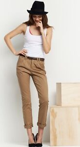 Vero Moda Law 958 Canvas Chino Gr. 32 bis 44 Hose Pants mit Gürtel Trousers