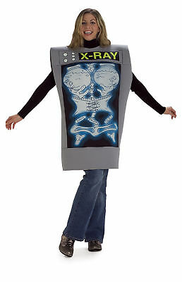 Female X-Ray Machine Comic Humorous Fancy Dress Couples Halloween Adult Costume (X Ray Halloween Costume)
