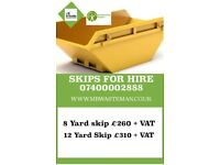 next day skip hire