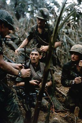 Vietnam War US Army 101st Airborne Fire Base At Mai Loc 8.5x11 Rare Photo