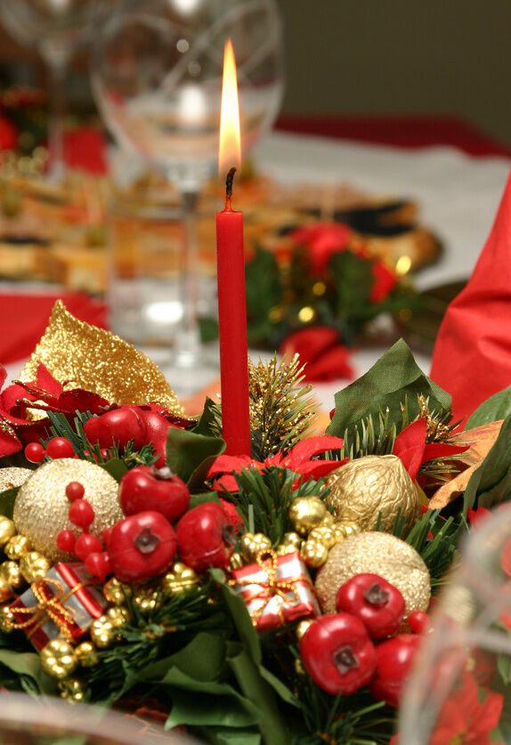 DIY: Christmas Themed Table Centerpieces | eBay