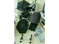 Bugaboo donkey duo with maxi cosi adaptor