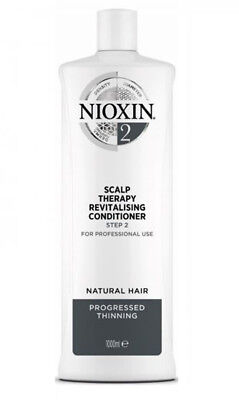 Nioxin System 2 Scalp Therapy conditioner 33.8oz / 1L