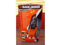 Black and Decker/Challenge Power washer pressure