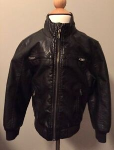 NEW faux leather jacket from H&M size4-5