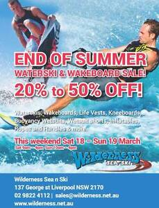 WATERSKI / WAKEBOARD STORE FOR ALL YOUR NEEDS Liverpool Liverpool Area Preview