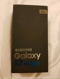 SAMSUNGGALAXY S7 EDGE 32GB GOLD UNLOCK MINT CONDITION