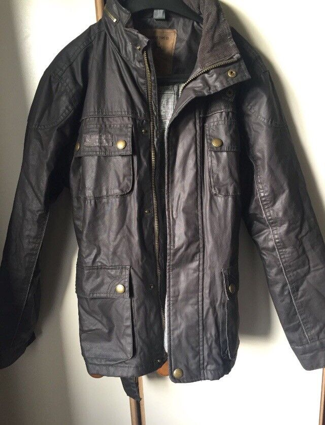 Boys - Zara Faux Leather Jacket