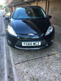 FORD FIESTA 2010 (60PLATE) BLACK 3DR