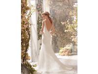 Wedding dress size 12 - Designer