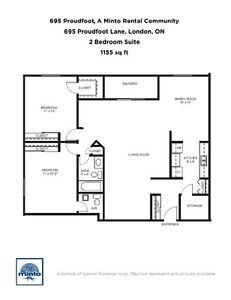 One Bedroom Suites 695 Proudfoot Lane for Rent - 695... London Ontario image 4
