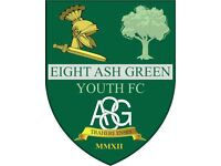 Eight Ash Green Youth Football Under 15s Club/Team Colchester, Essex - Training Friday 6-8pm.