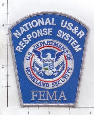 United States - FEMA National US&R Response System Fire Dept Patch v2