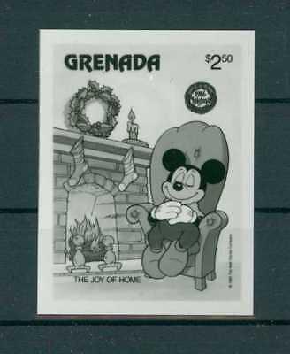 GRENADA WALT DISNEY MICKEY PHOTO-ESSAY FOTO-ESSAY PROOF UPU ARCHIV RARE!! h2335