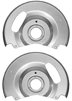 NEW DISC BRAKE DUST SHIELDS,BACKING PLATES,71-91 CHEVY C10,GMC C15 TRUCK