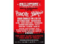 4 x GRILLSTOCK FESTIVAL TICKETS FOR SUNDAY 2ND JULY - MASSIVE DISCOUNT