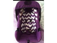 Baby car seat Obaby group 0+
