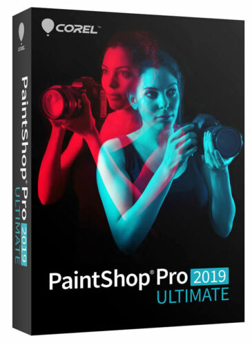 Corel Paintshop Pro 2019 Ultimate - New Retail Box