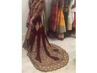 Asian Bridal Wedding Dress Outfit