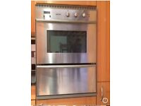 Smeg cooker,hob and extractor hood,Good condition ,uwntes due to kitchen refurb