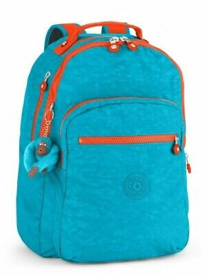 Kipling CLAS SEOUL Backpack with Laptop Compartment - Aquatic Blue C
