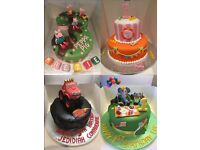 Childrens Birthday Cakes - Designed by YOU made by US - Also Cupcakes -Wedding - Baby - & More
