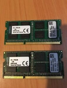 2x8g DDR3 Laptop Memory