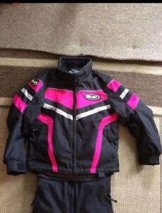 Girls Size 10 Snowmobile Suit