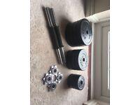 Bodymax Deluxe 20kg Rubber Dumbbell Kit