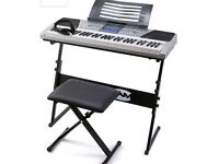 Keyboard for Sale - stand and seat included
