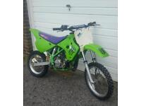 Kawasaki kx 85 80 crosser motorcross 65 125 ktm yz cr rm pit bike quad moped field bike