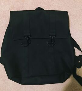 Rains large  black backpack