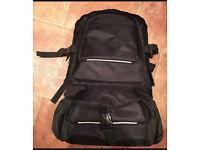 Large Black Camera Bag/Rucksack