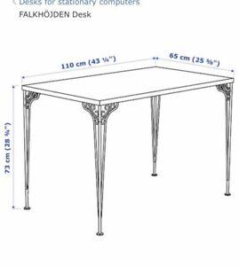 White desk (bedroom or office)