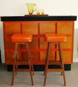 Vintage Macrob bar complete with bar stools Thebarton West Torrens Area Preview