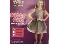Girls Halloween Kitty Costume Kids 1-