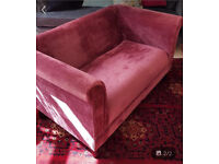 Chenille 2 seater couch