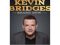 2 Kevin bridges tickets for Wednesday 17th in Glasgow